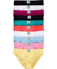 bpc bonprix collection Slip (10er-Pack) in rosa für Damen von bonprix
