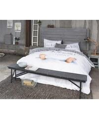 Dreamhouse Bedding Parure housse de couette 200x200/220 cm + 2 taies d'oreiller 60x70 cm I am busy - blanc