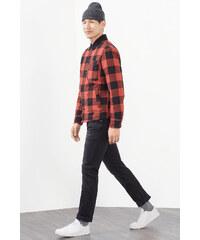Esprit Veste-chemise à carreaux matelassée