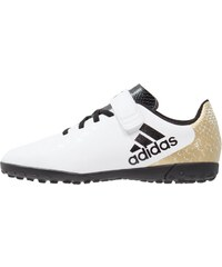 adidas Performance X 16.4 TF H&L Chaussures de foot multicrampons white/core black/gold metallic