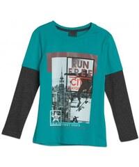 GATO NEGRO Jungen Shirt Longsleeve blau aus Baumwolle