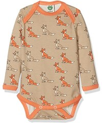 Småfolk Unisex Baby Body Ls. Fox