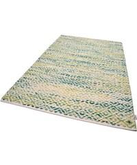 Tom Tailor Teppich Diamond handgearbeitet Wolle grün 11 (B/L: 85x155 cm),2 (B/L: 65x135 cm),3 (B/L: 140x200 cm),4 (B/L: 160x230 cm),6 (B/L: 190x290 cm)