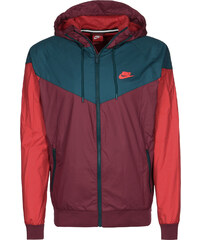 Nike Windbreaker red/turquoise