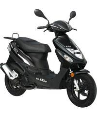 LUXXON Motorroller 50 ccm 45 km/h Uno schwarz