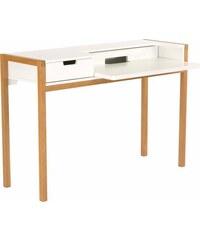 ANDAS andas Schreibtisch Laerke Eiche im nordischen Design weiß