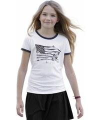 T-Shirt mit Frontdruck für Mädchen Arizona weiß 128/134,140/146,152/158,164/170,176/182