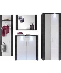 Garderoben-Set Xpress (4-tlg.) Baur grau
