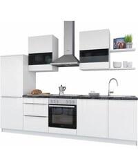 SET ONE BY MUSTERRING set one by Musterring Küchenzeile mit E-Geräten Monza Breite 290 cm weiß