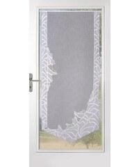 STICKEREIEN PLAUEN Gardine Stickereien Plauen Isabell mit echter Plauener Spitze Stickerei (1 Stück) weiß 1 (H/B: 140/60 cm)