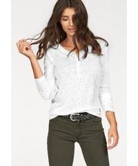Damen Cross Jeans Langarmshirt CROSS JEANS weiß L (38),M (36),S (34),XL (42)