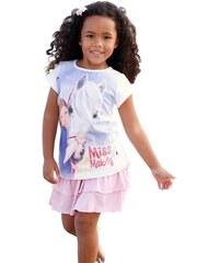 MISS MELODY Miss Melody T-Shirt mit Miss Melody - Druckmotiv für Mädchen weiß 104/110,116/122,128/134,140/146,92/98
