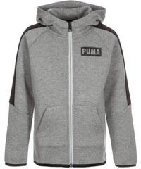 Puma Sports Style Trainingskapuzenjacke Kinder grau 128 - S,140 - M,152 - L,164 - XL,176 - XXL