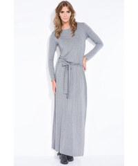 Tmavě šedé šaty Fobya F319 fb7ed1800e