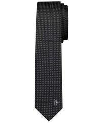Calvin Klein Shirt Cravate en soie - imprimé