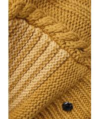 Cecil - Bonnet en maille de coton - golden glow