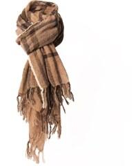 Monsieur Charli Whisky - Echarpe en laine mélangée - caramel