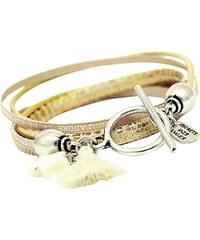 Secrets Des Anges Lauren - Bracelet en cuir - or