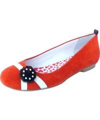 Hep'Y Paris New Day Girl Echoes - Ballerines en cuir - orange
