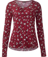 Street One Shirt mit Gummizug Iwanka - vintage red, Damen