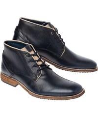 Gaastra Cradle - Boots en cuir - bleu marine