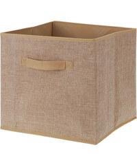 Lesara Aufbewahrungs-Box mit Griff - Beige