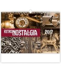 Helma 365, s.r.o. Nástěnný kalendář Retro Nostalgia 2017 N145-17