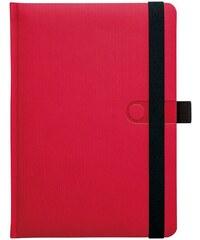 GRASPO CZ, a.s. Notes A5 Trendy červený čtverečkovaný, objednávka od 100 ks N-A5C-018-17