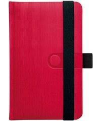 GRASPO CZ, a.s. Notes kapesní Trendy červený linkovaný, objednávka od 100 ks N-KVL-018-17