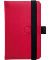 GRASPO CZ, a.s. Notes kapesní Trendy červený čtverečkovaný, objednávka od 100 ks N-KVC-018-17