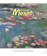 PRESCO GROUP, a.s. Nástěnný kalendář Claude Monet 2017 PGN-3563-L-17