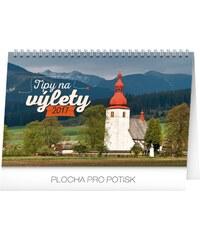 PRESCO GROUP, a.s. Stolní kalendář Tipy na výlety SK 2017 PGS-3626-SK-17