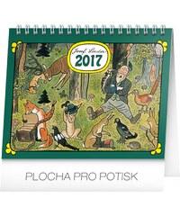 PRESCO GROUP, a.s. Stolní kalendář Josef Lada – V lese 2017 PGS-3641-17