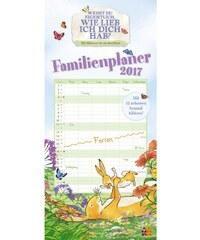 DuMont Kalenderverlag GmbH & Co. KG Nástěnný kalendář Rodinný plánovač / FamilienWeißt Du eigentlich … 2017 17DU3599