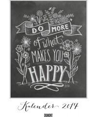 DuMont Kalenderverlag GmbH & Co. KG Nástěnný kalendář Co Vás učiní šťastným / What makes you happy 2017 17DU3611