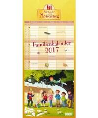 DuMont Kalenderverlag GmbH & Co. KG Nástěnný kalendář Rodinný plánovač / FamilienKinder aus d. Möwenweg 2017 17DU3612