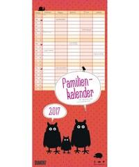DuMont Kalenderverlag GmbH & Co. KG Nástěnný kalendář Rodinný plánovač Zvířata / Familien Viechereien 2017 17DU3613