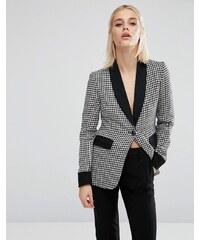 Fashion Union - Blazer coordonné motif pied-de-poule - Multi