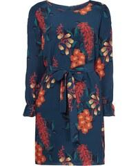 Hugo Kleid aus Seide mit floralem Muster