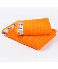 Bade Home Ručník a osuška Mozaika oranžová