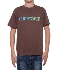Dětské tričko Funstorm Escolt brown XL