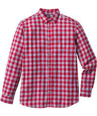 bpc bonprix collection Chemise à carreaux manches longues Regular Fit rouge homme - bonprix