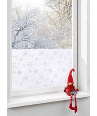 bpc living Film adhésif brise-vue pour fenêtre Flocons de neige blanc maison - bonprix