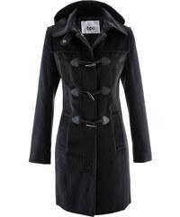 bpc bonprix collection Manteau à capuche noir manches longues femme - bonprix