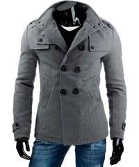 Pánský kabát DANTE - šedý