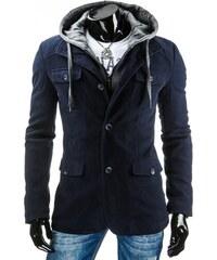 Pánský kabát BRUNO - modrý