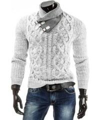 Pánský svetr - Colin, bílý