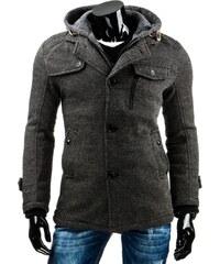 Pánský kabát - Portici, tmavě šedý