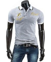 Pánské POLO tričko - Filippo, šedé