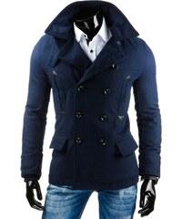 Pánský kabát ROCCO - modrý